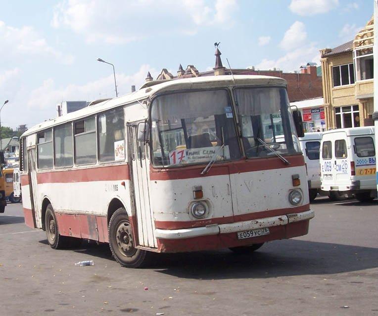 История автобусов ЛАЗ.