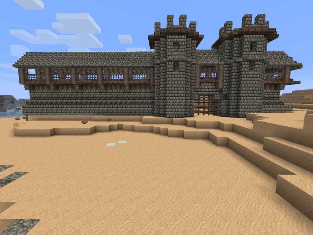 замков minecraft Minecraft