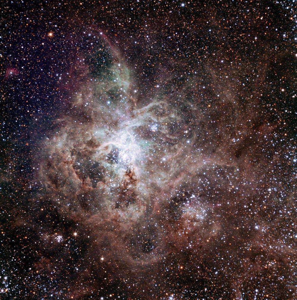 В Большом Магеллановом Облаке обнаружили одинокую гигантскую звезду