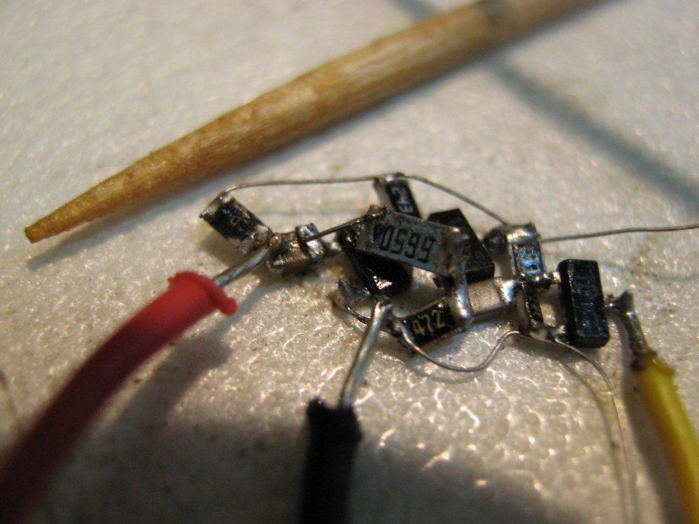 Как сделать пайки радиодеталей 109