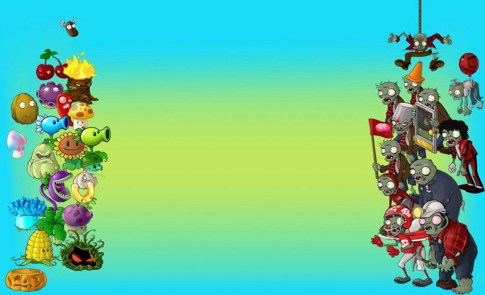 Картинки цветки против зомби 4