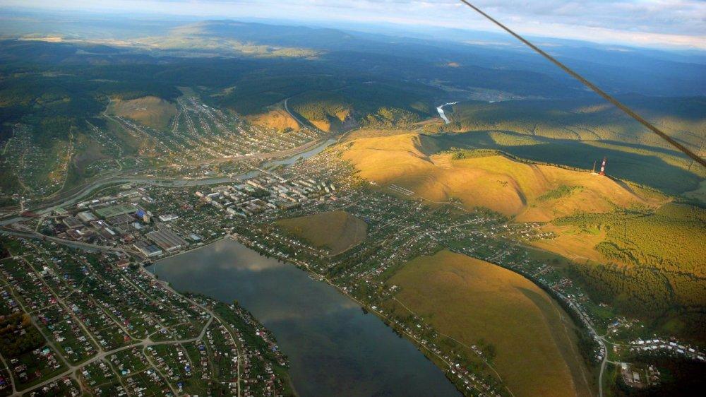 Усть-Катав фото города: Усть-Катав с высоты птичьего полета