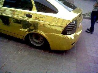 Золотая приора.