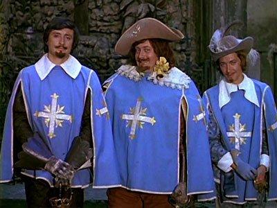 Д'Артаньян и три мушкетёра (1979) DVDRip.