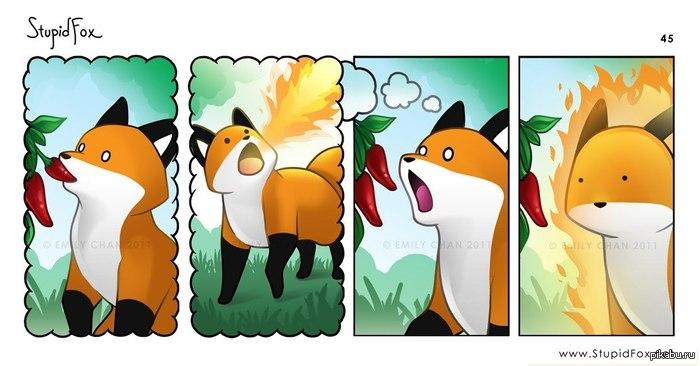 лисята аниме картинки: