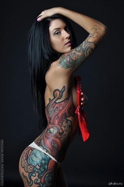 Девушки в татуировках 60 фото Триникси
