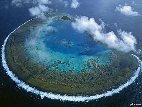 Большой барьерный риф австралия