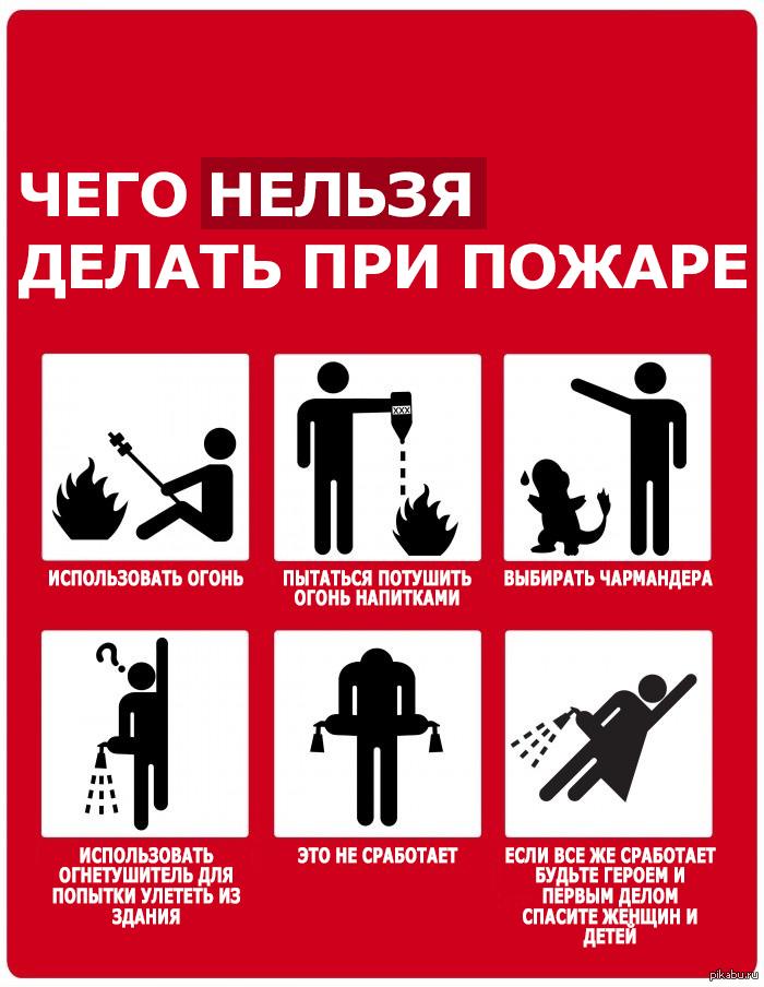 Что делают пожарники во время пожара