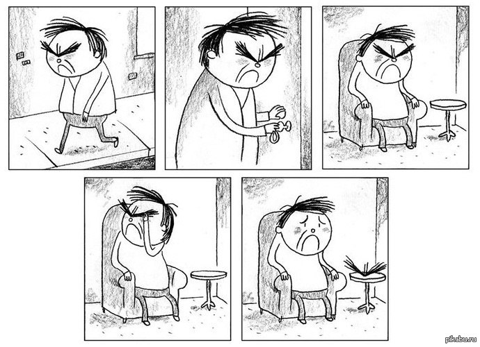 злые рисунки: