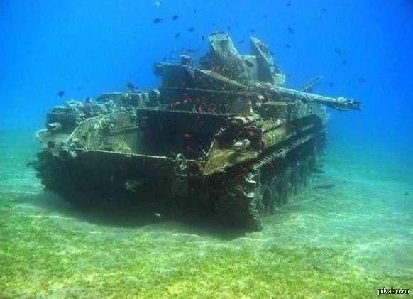 затонувшие подводные лодки под водой