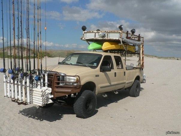 на каком автомобиль для рыбалку