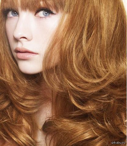 карамельный цвет волос фото гарньер