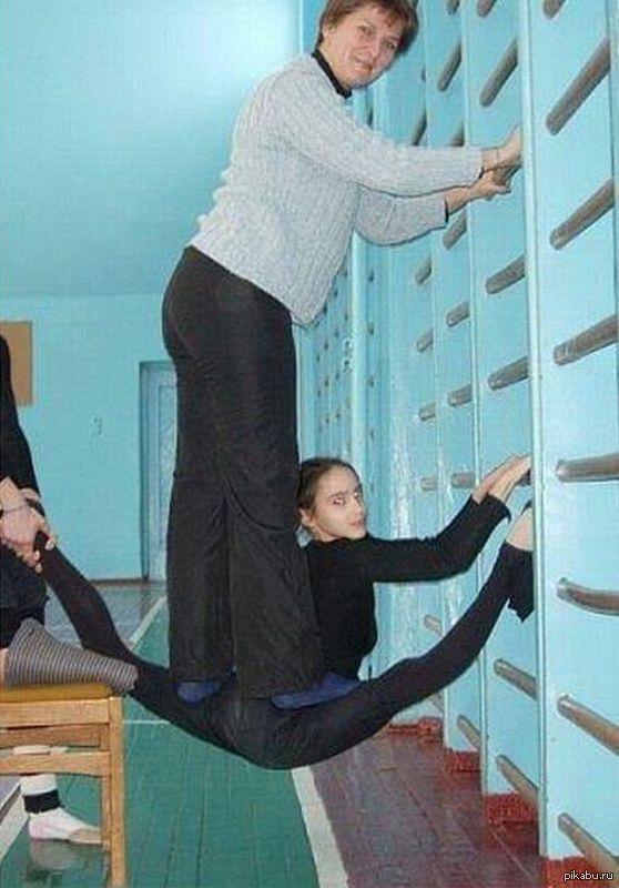 прикольные фото художественной гимнастики
