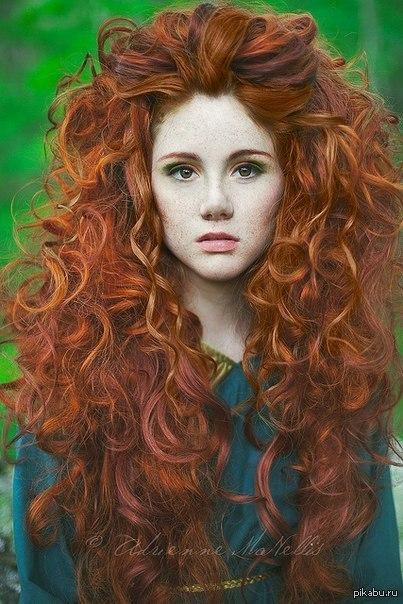медные и рыжие волосы хной фото