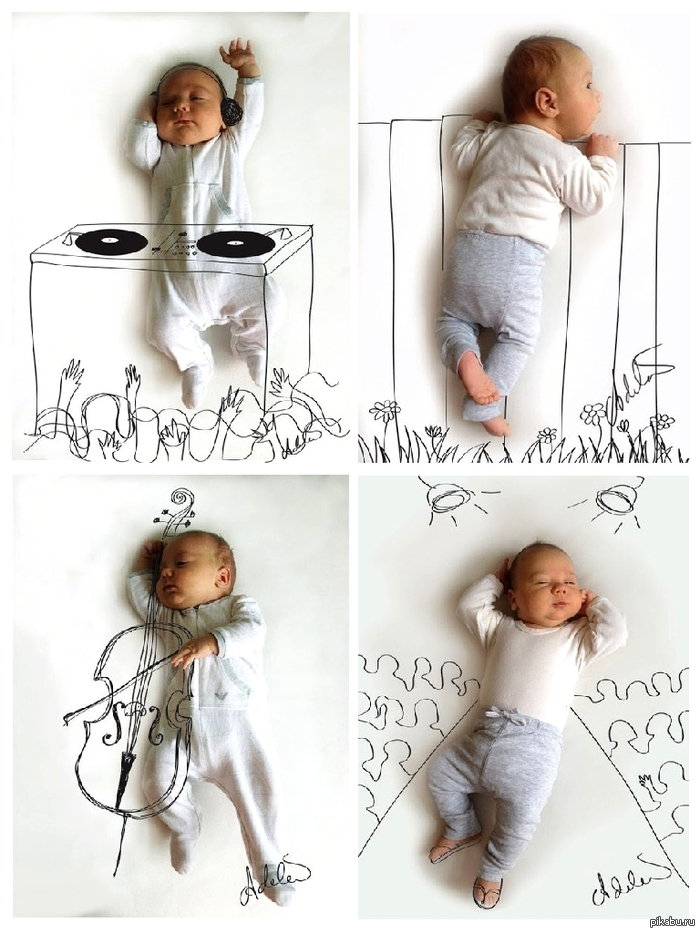 Идеи для фотосессии самых маленьких: http://pikabu.ru/story/idei_dlya_fotosessii_samyikh_malenkikh__1119342