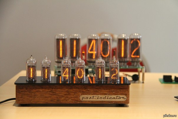 часы (Nixie Clock) от