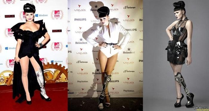 Виктория Модеста - инвалид, певица, успешная модель и владелица клуба