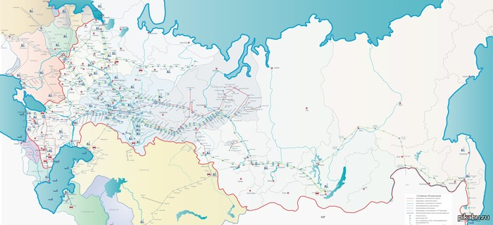 Карты Нефтепроводов России похожих постов не найдено интересное, длиннопост.