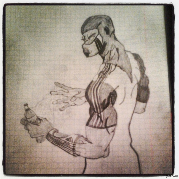 рисунки карандашом мортал комбат: