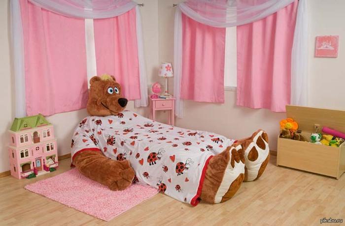 Сделать кровать для девочки