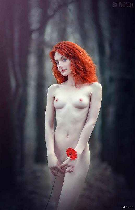 рыжие девушки ню фото