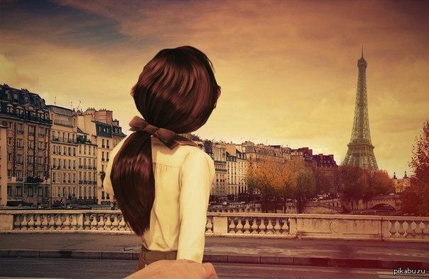 картинки девушек со спины с мелированными волосами