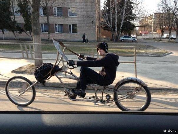 велосипед с членом фото