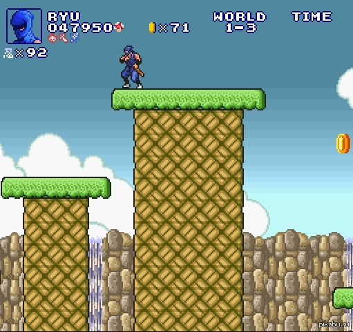 Всегда мечтал пройти уровни марио другими персонажами. http://www.explodingrabbit.com/games/super-mario-bros-crossover