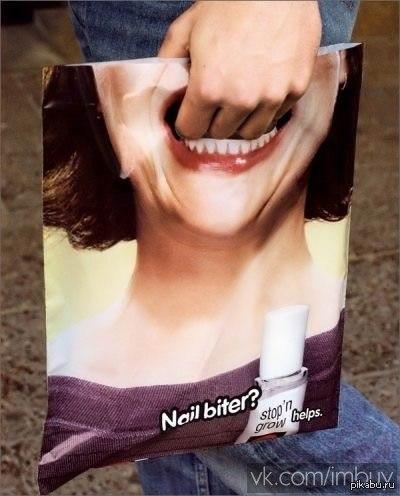 фото палец в рот