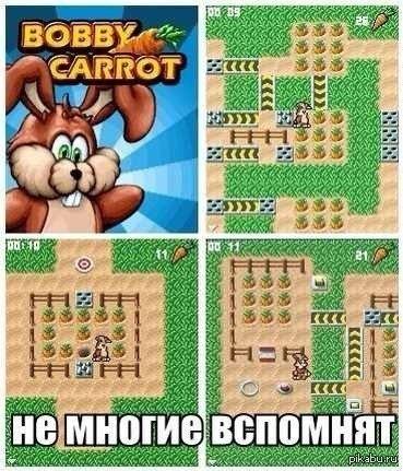 Как называется игра где кролик собирает морковку