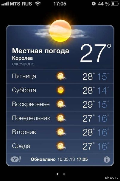 картинки с погодой на айфон
