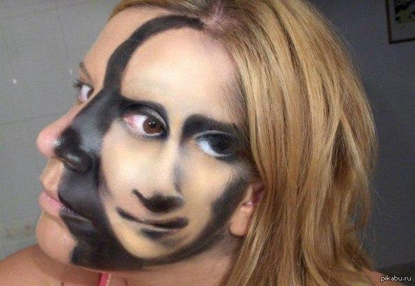 рисунки на лице профессия
