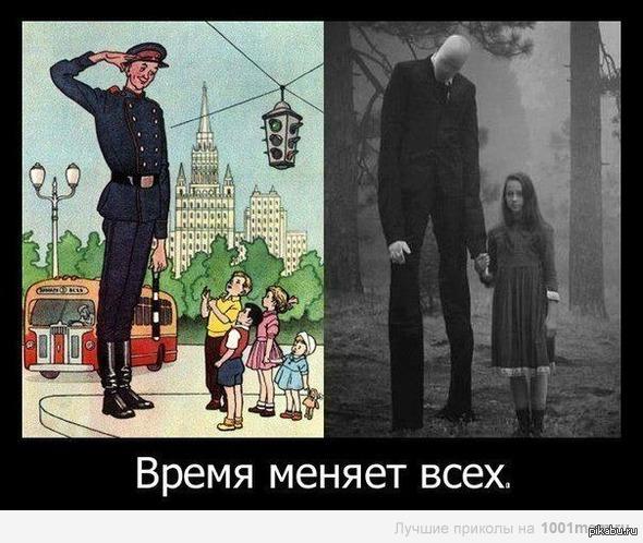 время меняет фото