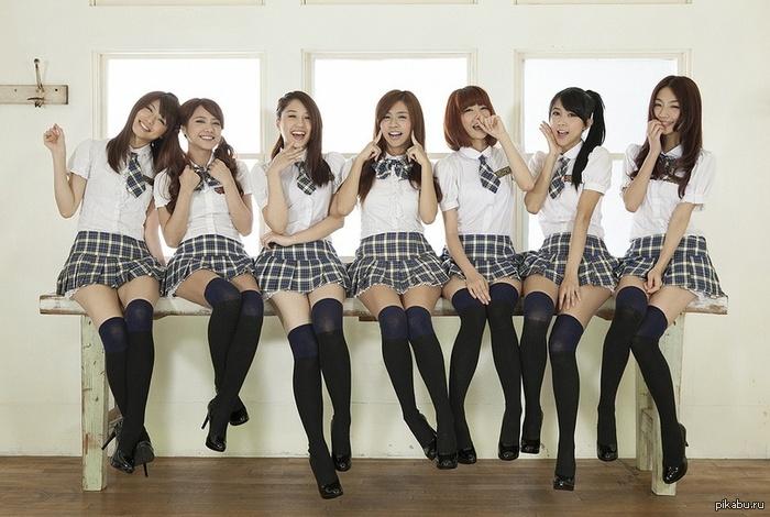 фото со школьницами