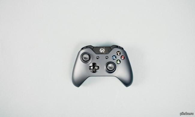 Красавец от Microsoft новый геймпад от xbox one, консоль конечно не айс, но геймпад красивый