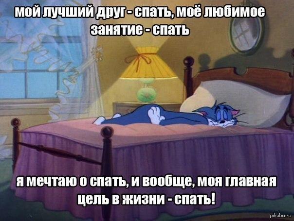 картинка спать любит меня