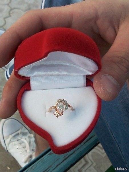 Как сделать предложение девушке какое кольцо купить