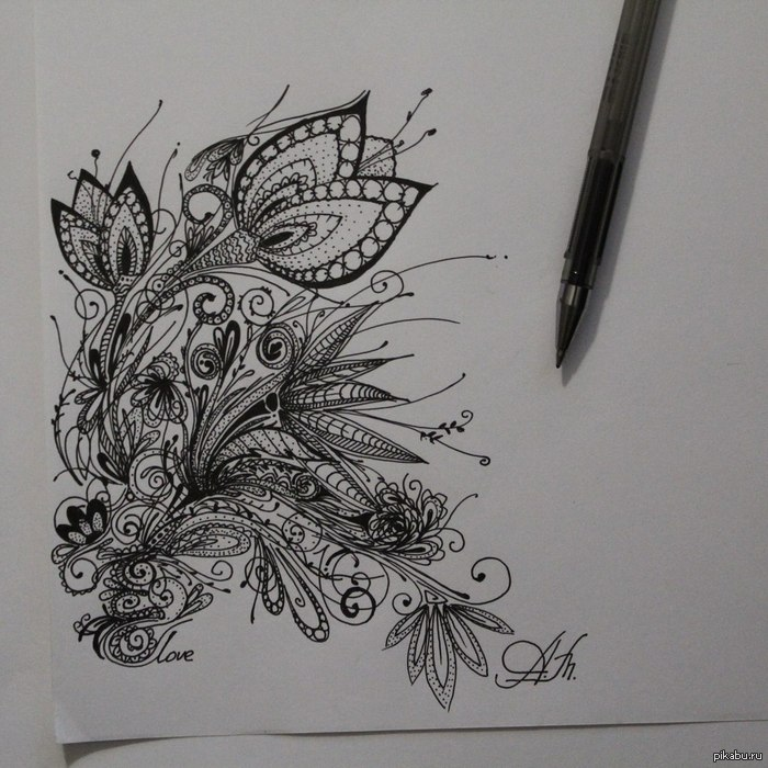 арт рисунки души