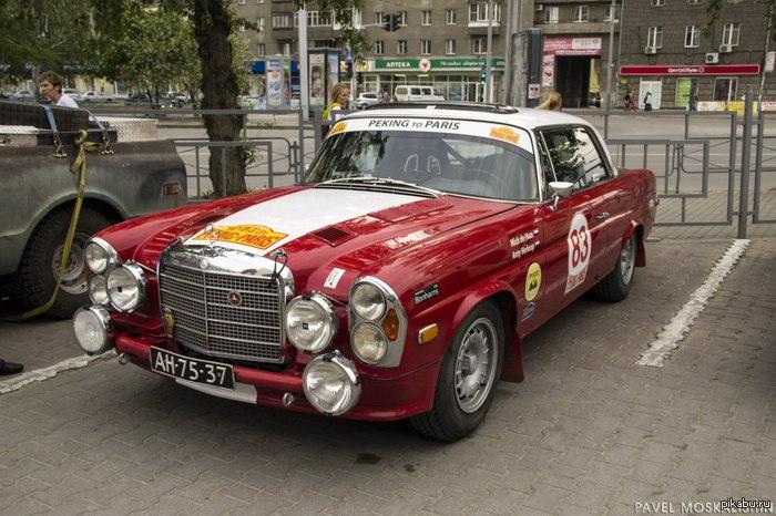 Новосибирск автопробег пекин париж