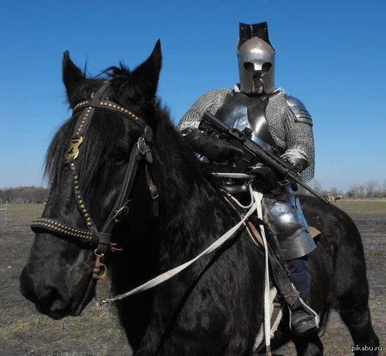 Лошадь рыцаря
