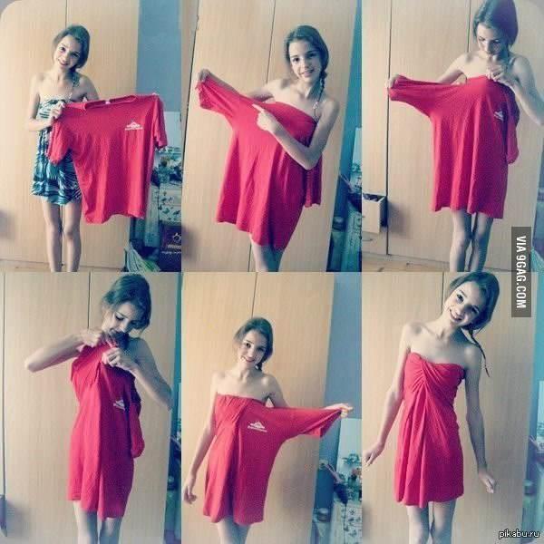 Как с делать платья