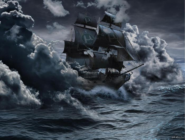 Пиратский корабль картинки - 7607