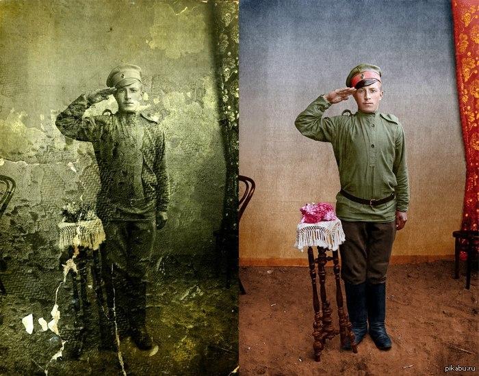 Восстановление фотографии Фотошоп ...: pikabu.ru/story/vosstanovlenie_fotografii_1386348