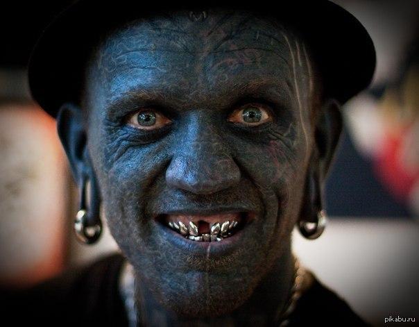 Картинки по запросу татуированный человек