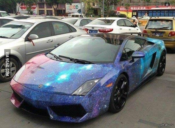 фото машины цвет космос
