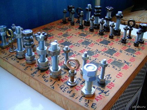 Как самому сделать шахматы