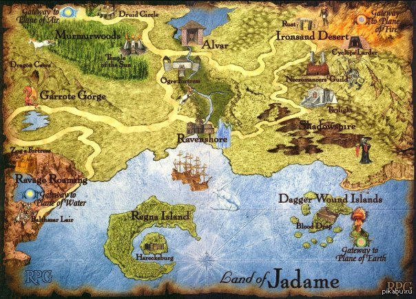 карты для герои меча и магии