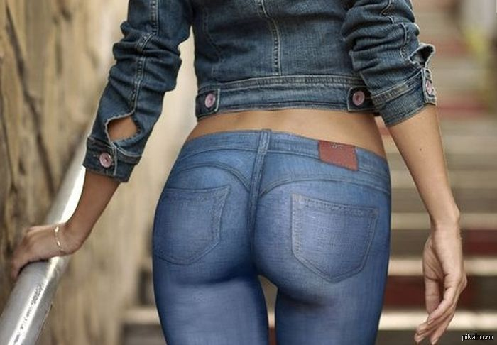 Фото жопа в джинсах 88642 фотография