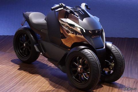 трехколесный скутер peugeot