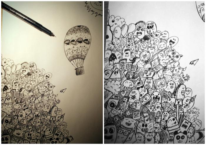 Рисунок черно белый рисунок рисунок